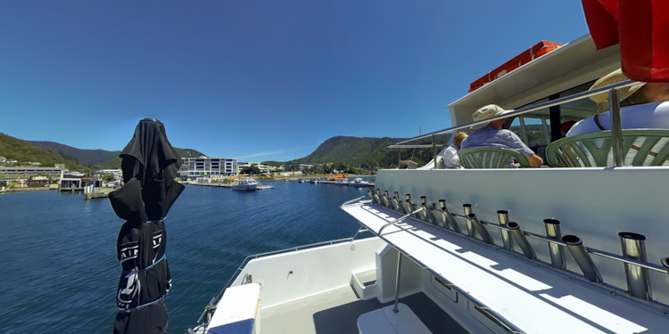 Leaving Picton for the Marlborough Sounds