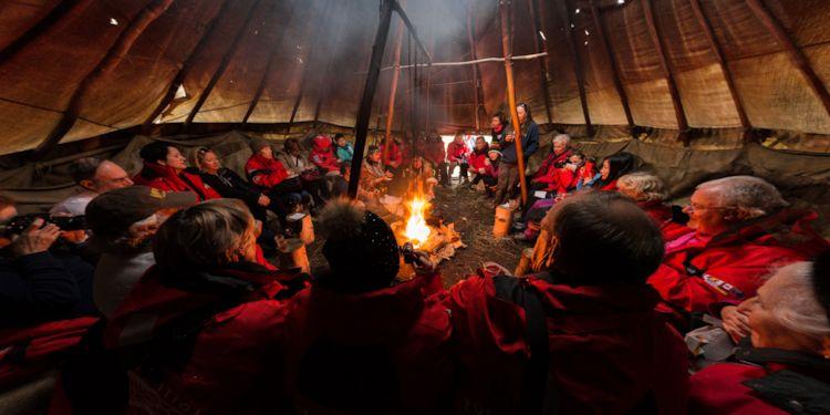 Koryak Village -Teepee Cooking