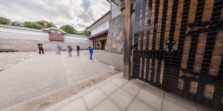 Kanazawa - Kenroku Castle Gate