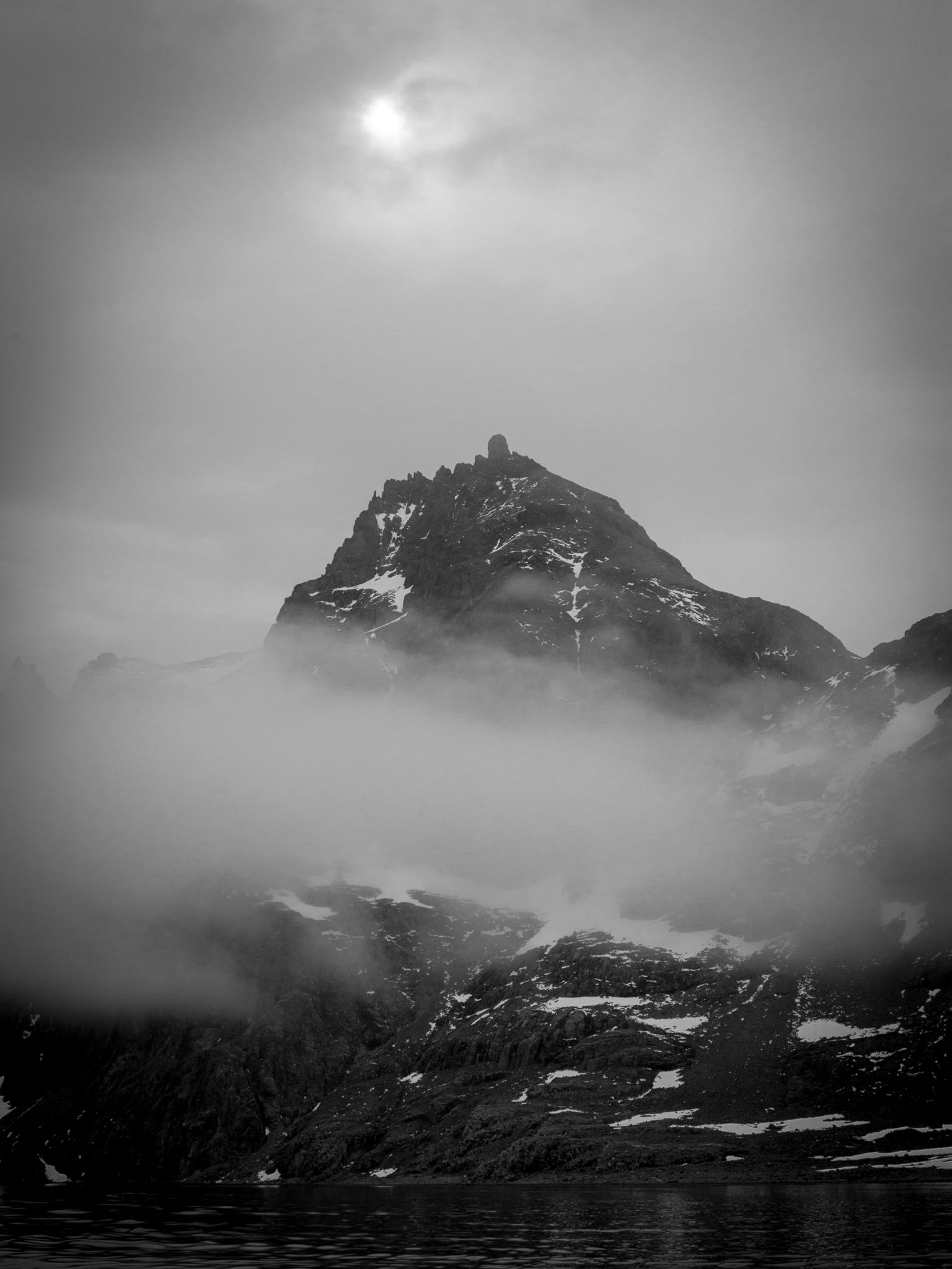 Mist - Larsen Harbour -   Tony Redhead