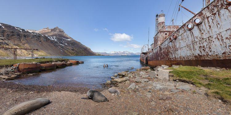 Old Whaling Ship & Maintenance Sheds