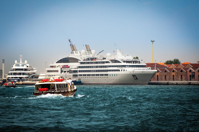 Docked at Venice