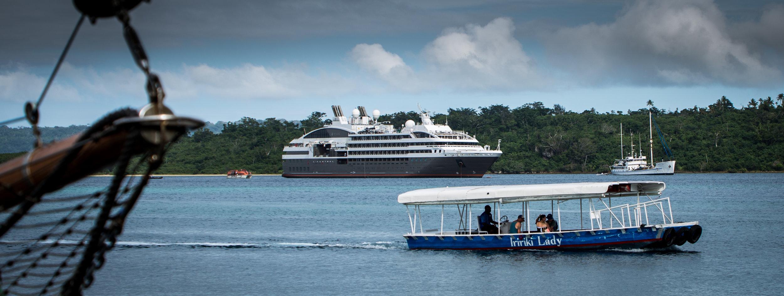 Port Vila Arrival