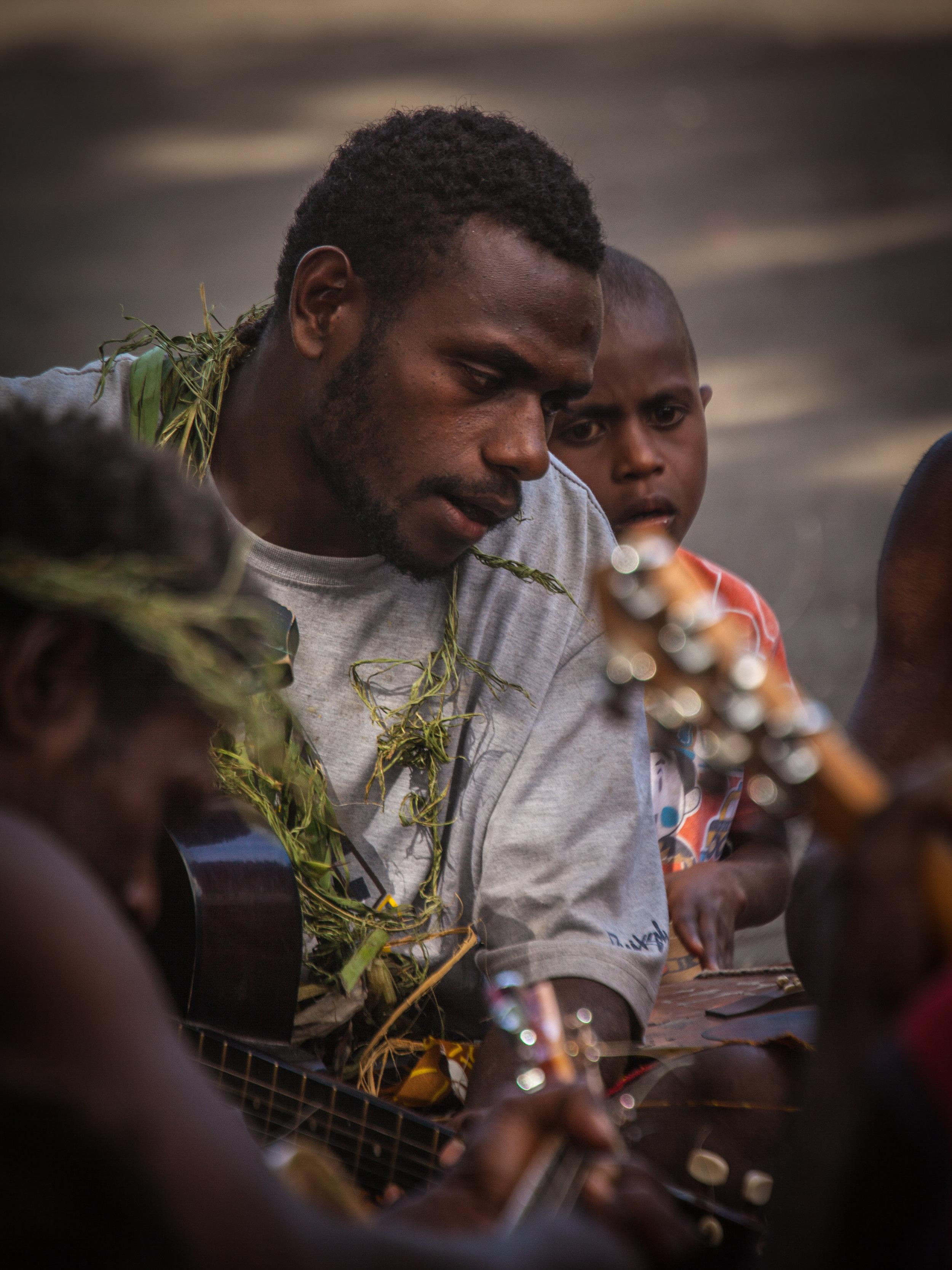 Tana Musician