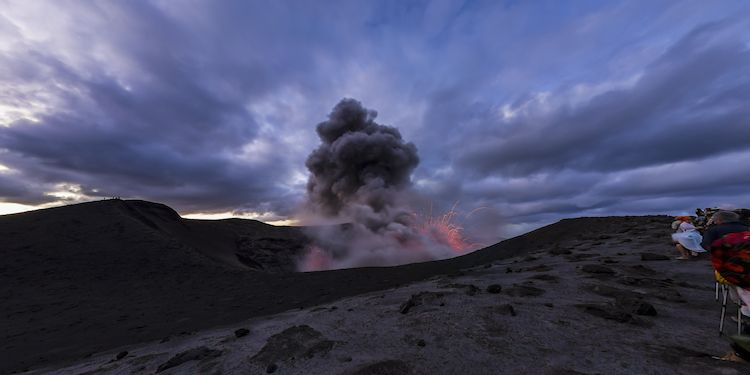 Tana - Volcanic Activity Mt Yasur