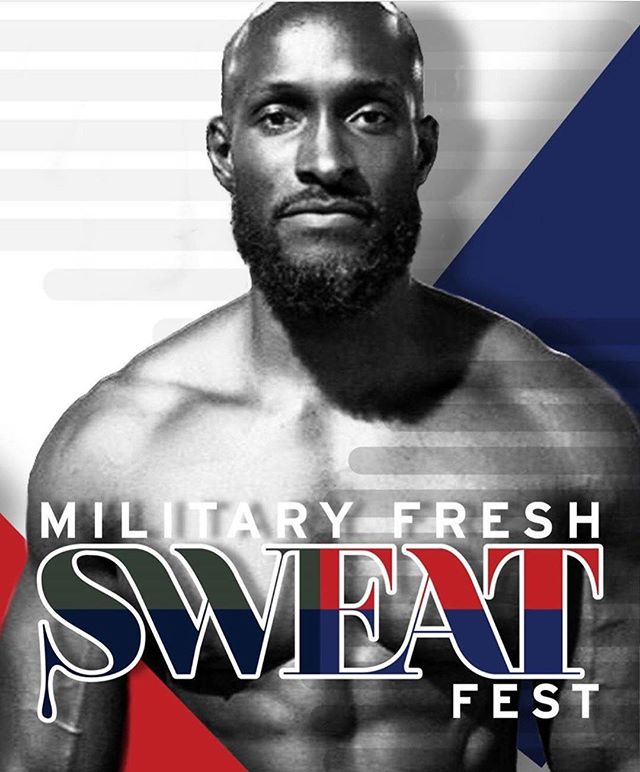 TUNE IN TONIGHT @ 7:00pm EST 🕖 on @militaryfreshnetwork IG LIVE‼️ We are gearing up for our 2019 Military Fresh Sweat Fest Weekend. 💦💪 - - We will be conducting a LIVE Q&A with the homie @qfrance who will be bringing the heat on stage during the  #militaryfreshsweatfest 💪💦 - - Dates: June 14-15 Location: Harlem, NYC. - MILITARY FRESH SWEAT FEST PORTION IS FREE‼️ Saturday Morning: 9:00am - 2:00pm - - Friday Night:  MEET & GREET/NETWORKING EVENT - Tickets 🎫 must be purchased. - Food Included. - Saturday Night: MILITARY FRESH GALA - Tickets 🎫 Must be purchased - Food Included. - -  Quincy was born in St Kitts BWI and raised in the South Bronx. He played every sport that he was exposed to but basketball and skateboarding were his favorites along with studying martial arts. He excelled in every sport.  He enlisted in the Navy and served 4 years as an engineer. He played basketball and boxed while he served as well.  Fitness has always been a part of his life and it was only natural for him to become a trainer. He became certified and has always educated himself on numerous modalities of fitness. He became certified in early 2000 but working for a gym was never his intention. He has always wanted the ability to be independent and set his own schedule. He is currently a brand ambassador for several companies to include: Make it fun NYC - jump rope workout; Rubberbanditz - a resistance band company; Bodyworksball - a myofacial release self care tool company; Eboost - a nutritional supplements company and Pushing Weight apparel. The Pushingweight Push The World Tour goal is to bring fitness to everywhere in the world through workshops, contests, giveaways and fun fitness challenges to win Pushingweight apparel and other gifts. So far they have been to Chicago, Bronx NY, Dominican Republic, Brazil and Miami. They plan to be in Philadelphia and Venice California by May and they also do events at schools like NYU. - #sweatfestnyc #thesweatparty #armyfresh #militaryfreshnetwork #navyfresh #airforcefresh #semperfresh #armyfreshfitness #militaryfreshfitness #fitness #pushplay #explorepage #instafit #instafitness #marketing #marketing101 #healthiswealth #motivate