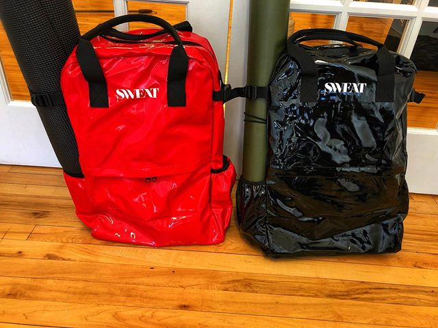 We are truly getting you ready for summer with these. I introduce you to #hot&sauce! These two patent leather bags are the best weekender, gym bag, style stirring bags you can have this season. DM for inquiries ! #sweatpartyapparel #theoriginalsweatparty #sweatparty2019