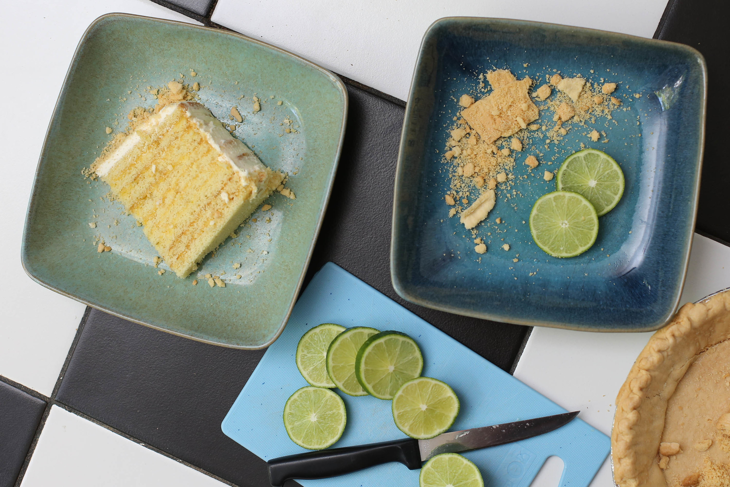 a slice of key lime... so tasty!