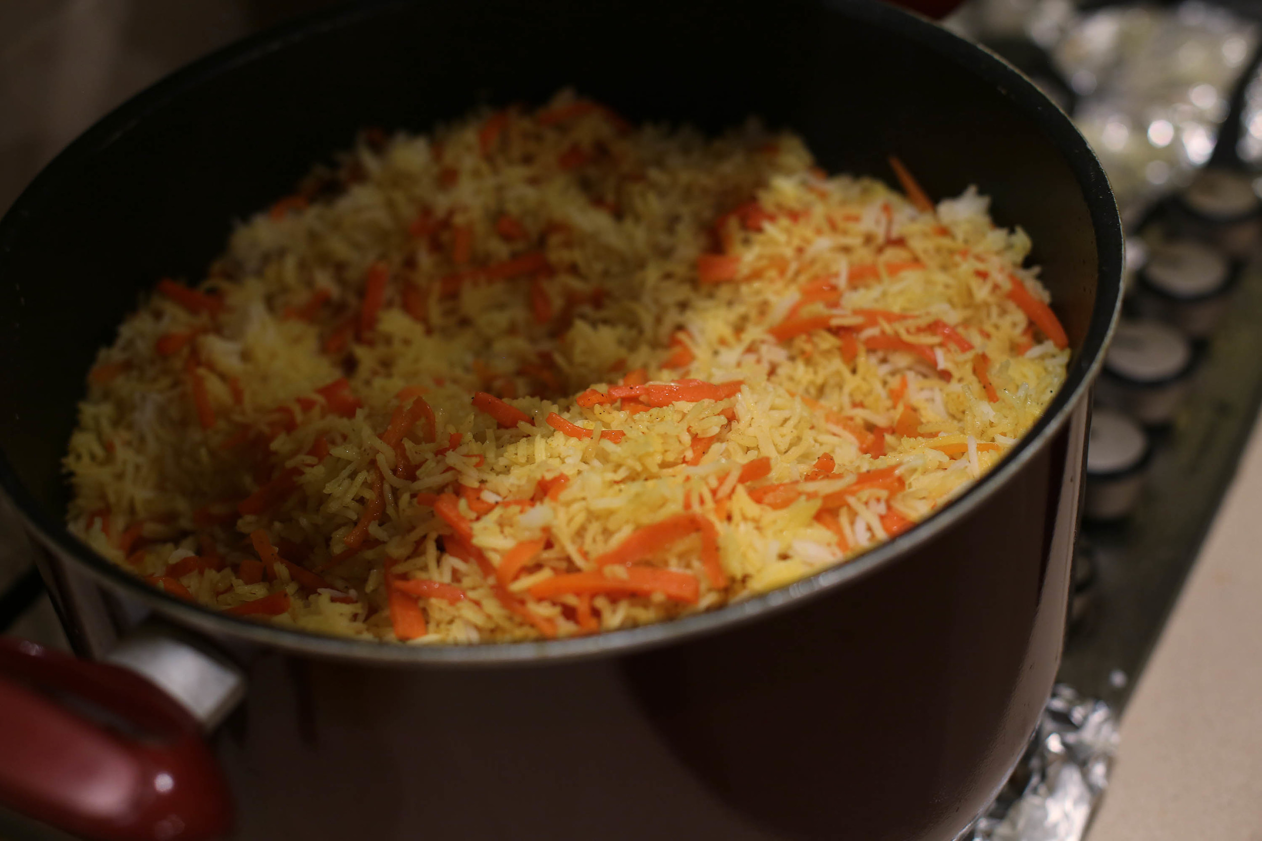 I will put a recipe of this rice in another blog post for sure, in case you were worried.
