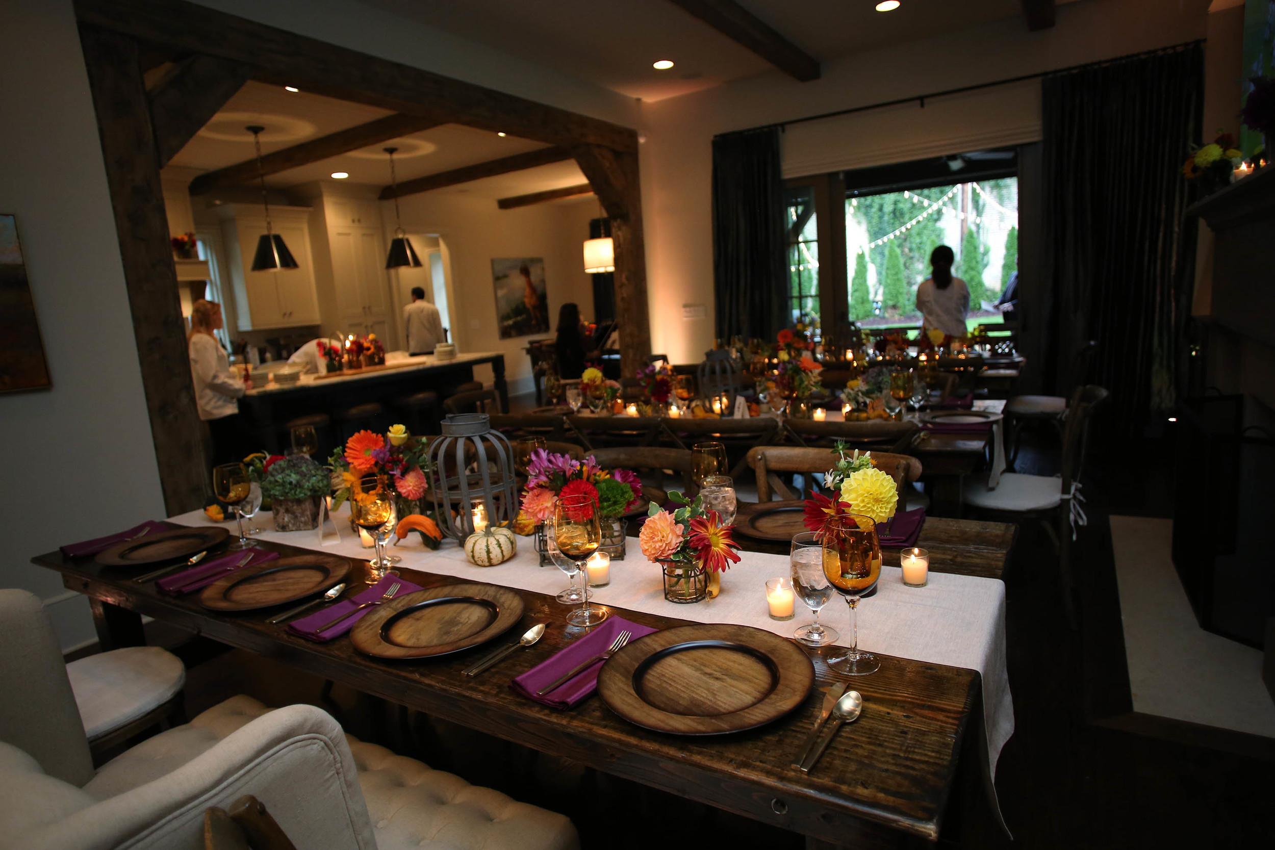 a beautiful interior wedding space perfect for a rainy day in the Fall!