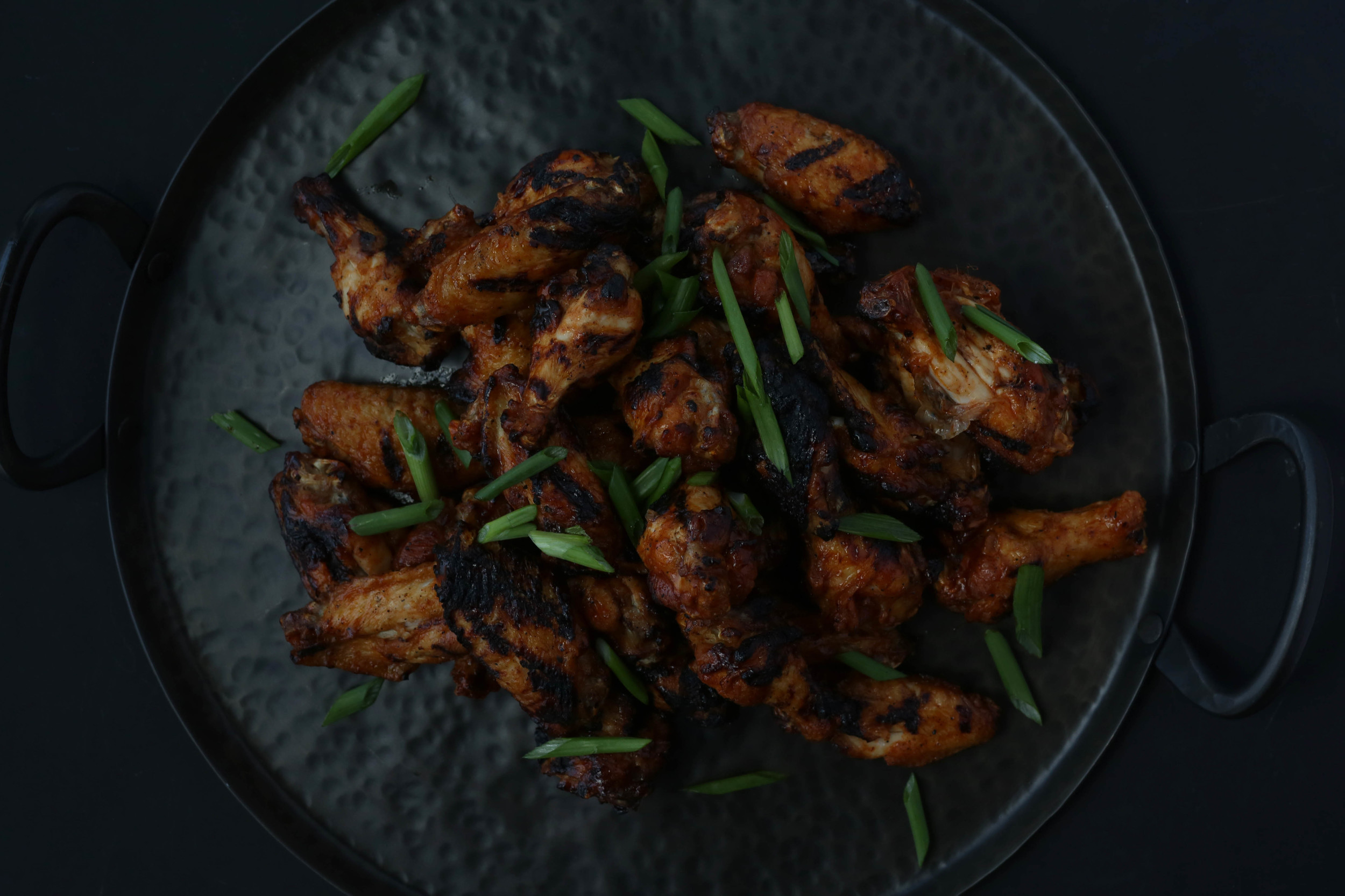 Grilled wings just speak to me.