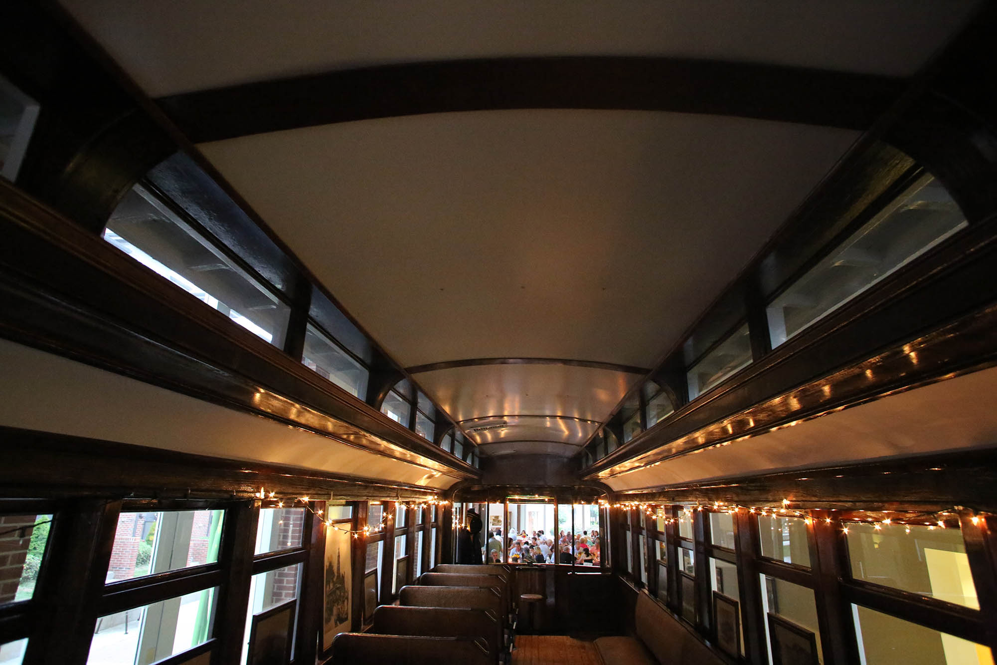 inside the trolley