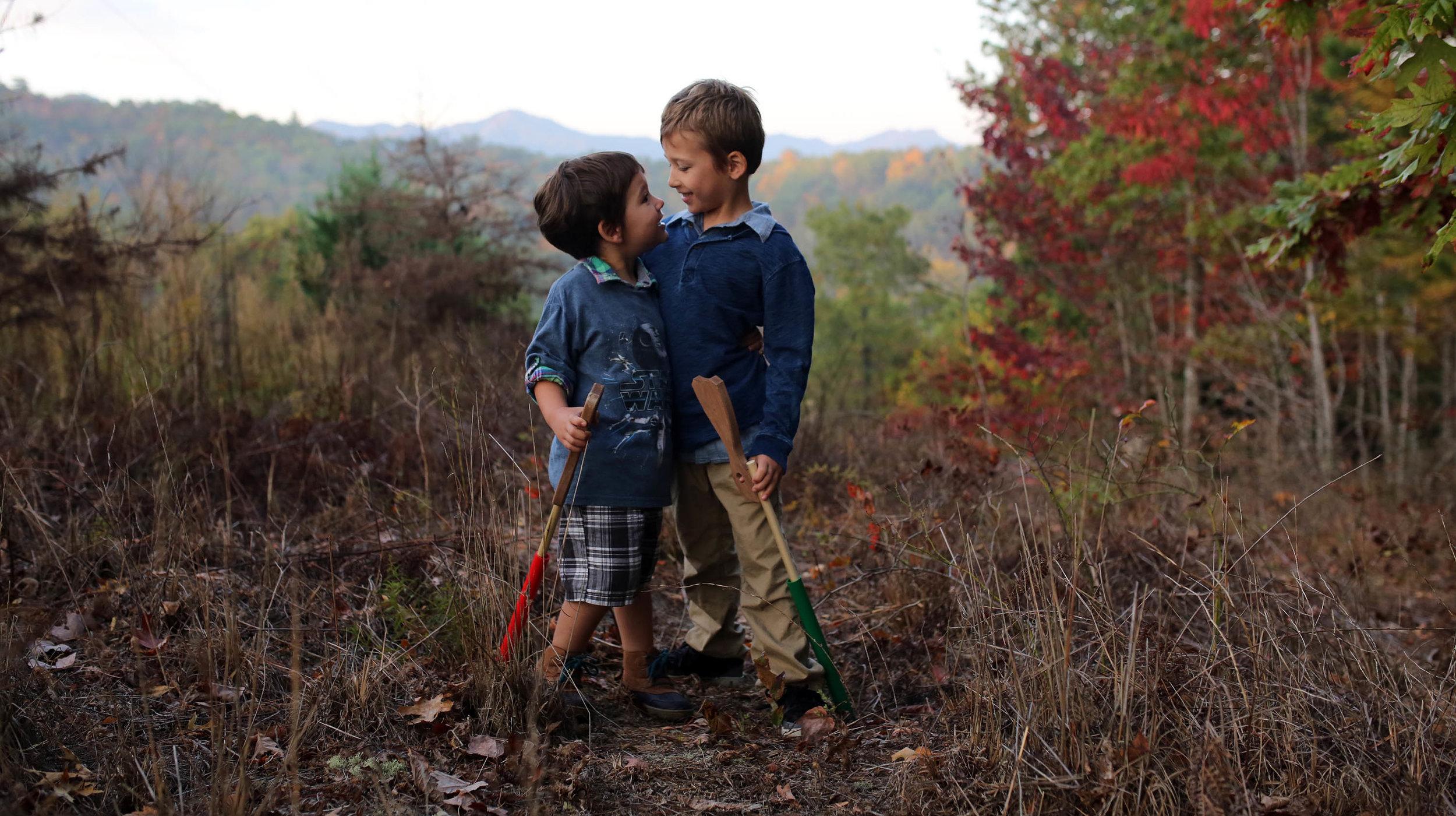 my boys Fall 2016