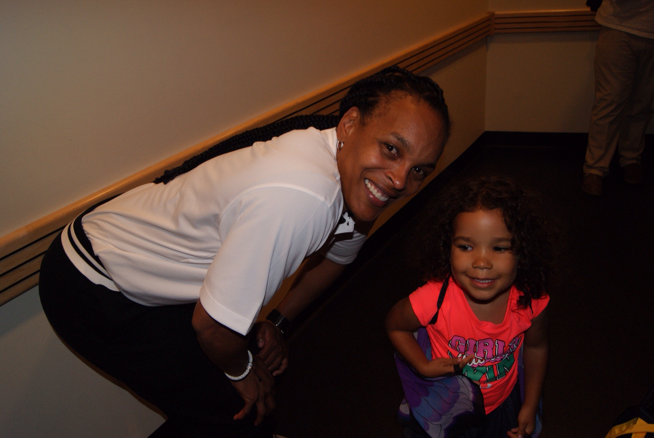 One day, I hope Camilla will appreciate that she took a picture with basketball icon, Teresa Weatherspoon.