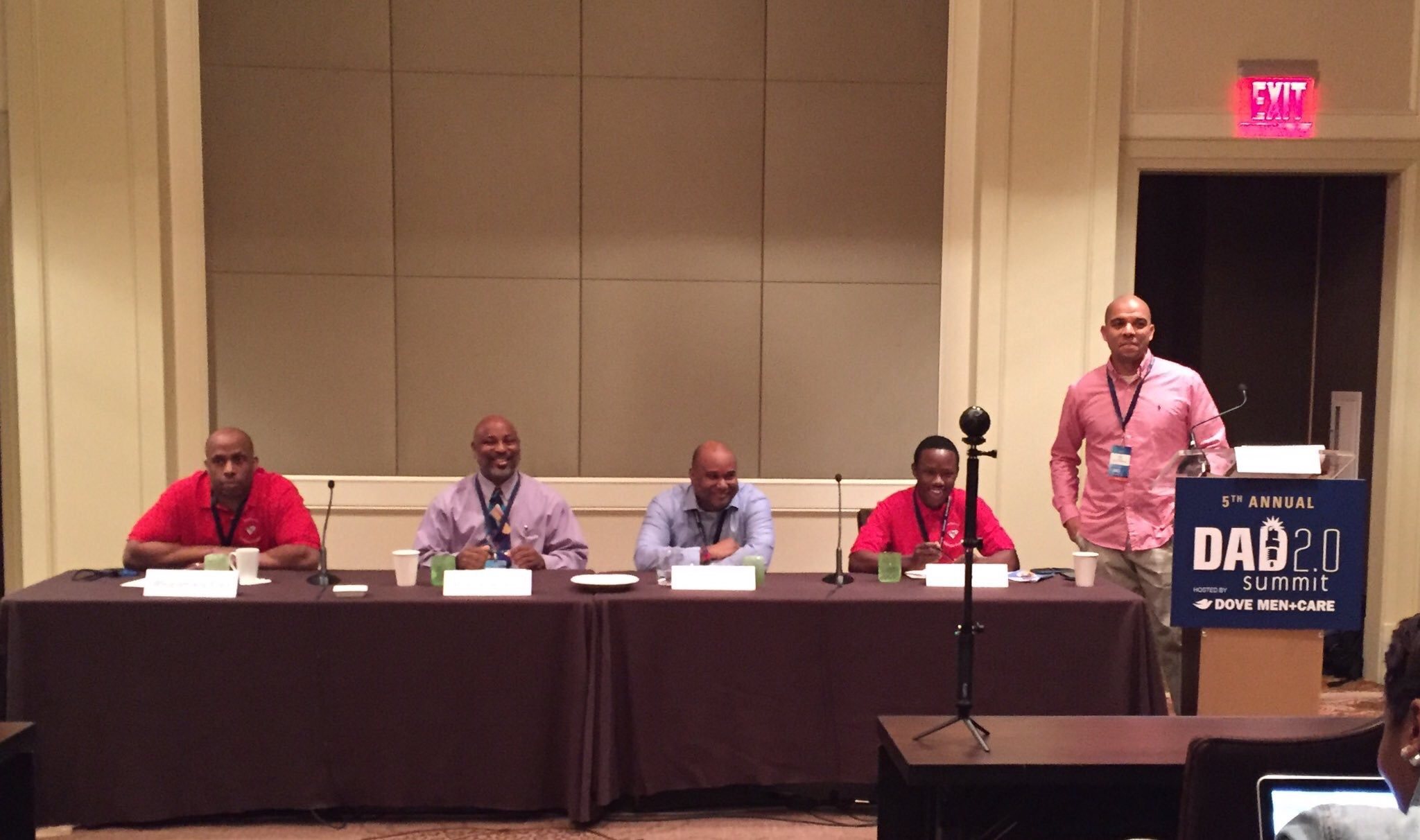 The panel, which included Darren Carter, Nathaniel Turner, Naeem Khari Turner-Bandele and me was moderated by Dee Lanier.