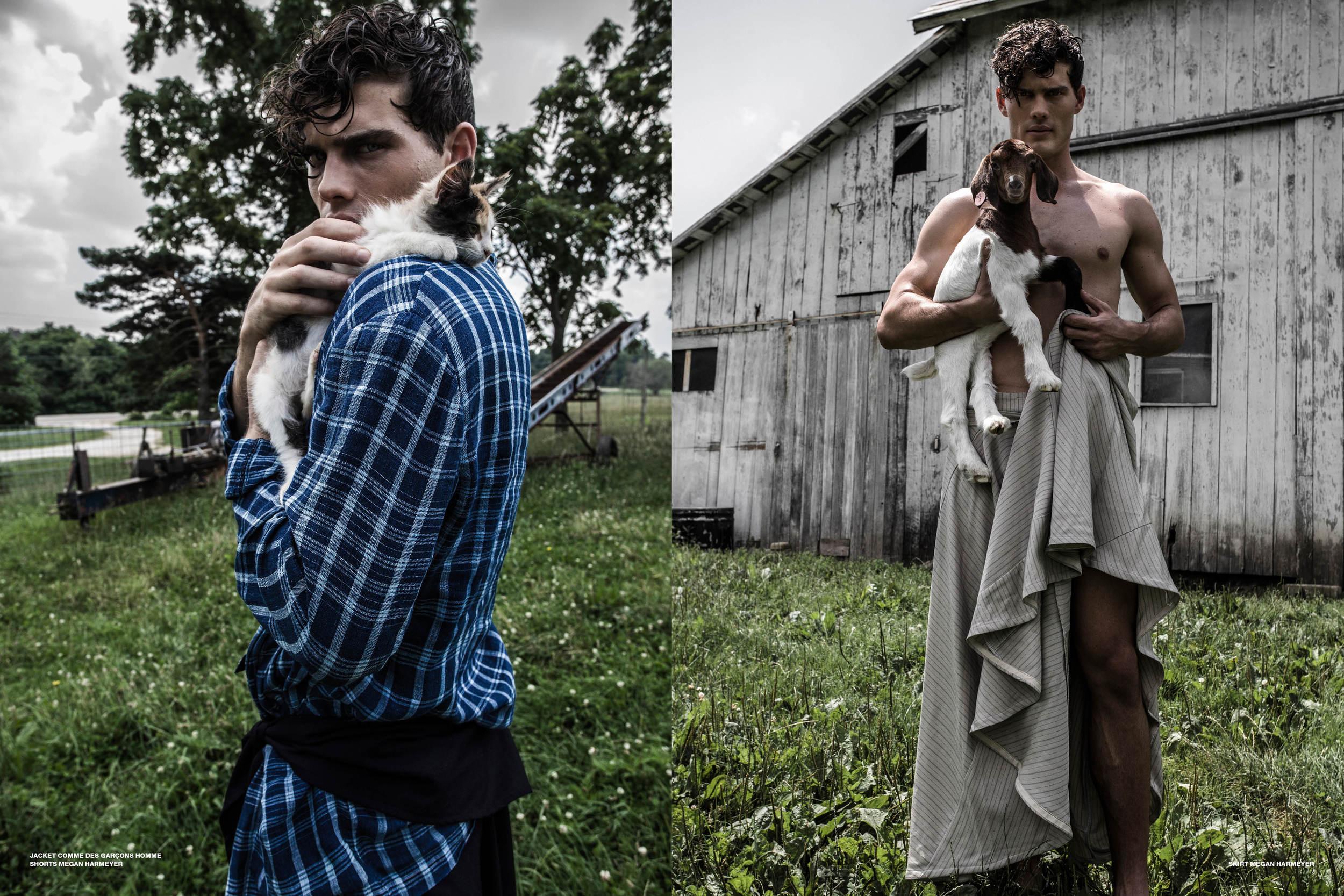 Farmville - Adon Magazine  Photography Dalong Yang