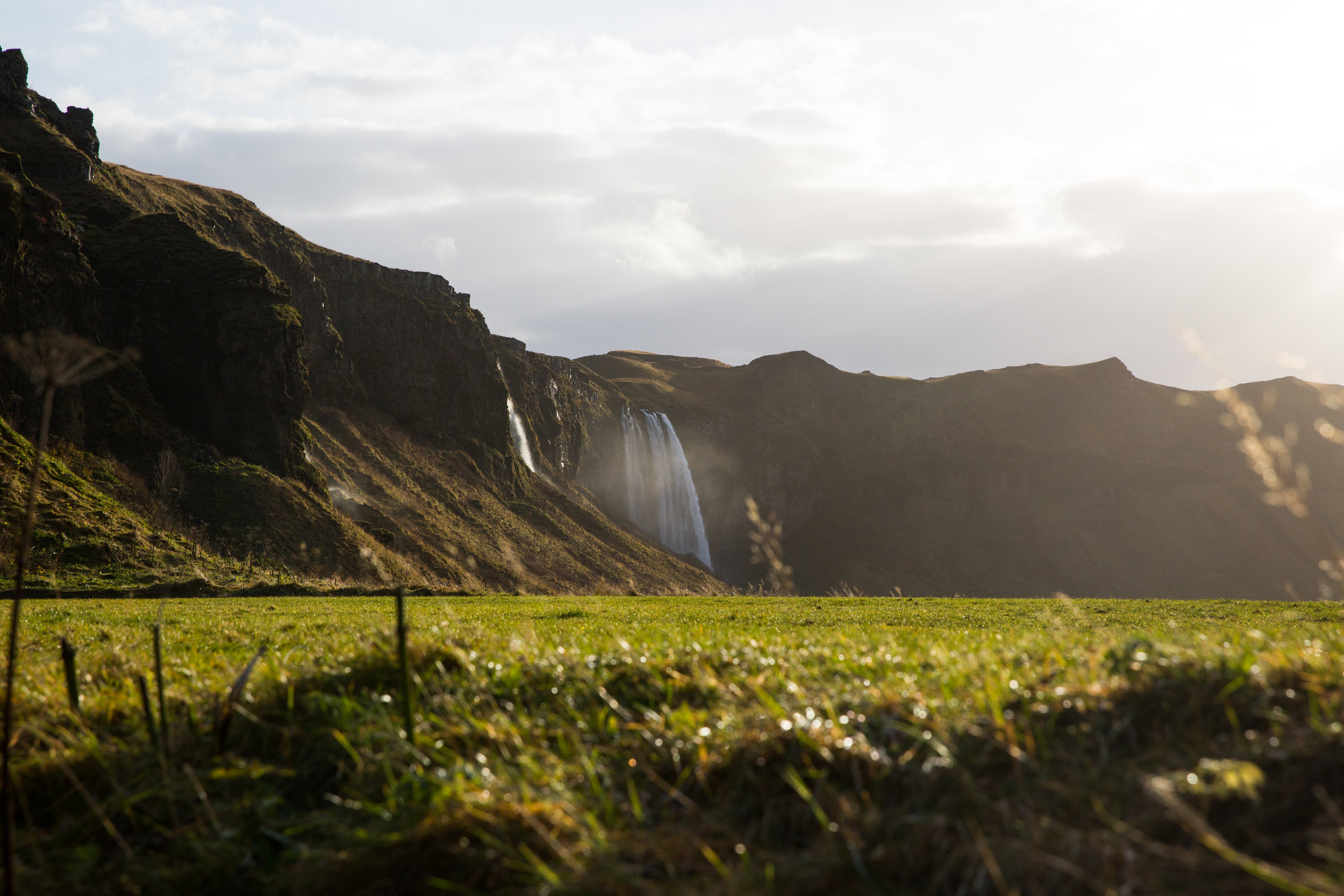 Easily a top pick from our adventure. Eyjafjalla from across the fields. A unique feeling to Iceland: the sense of new adventure with nearly every view.