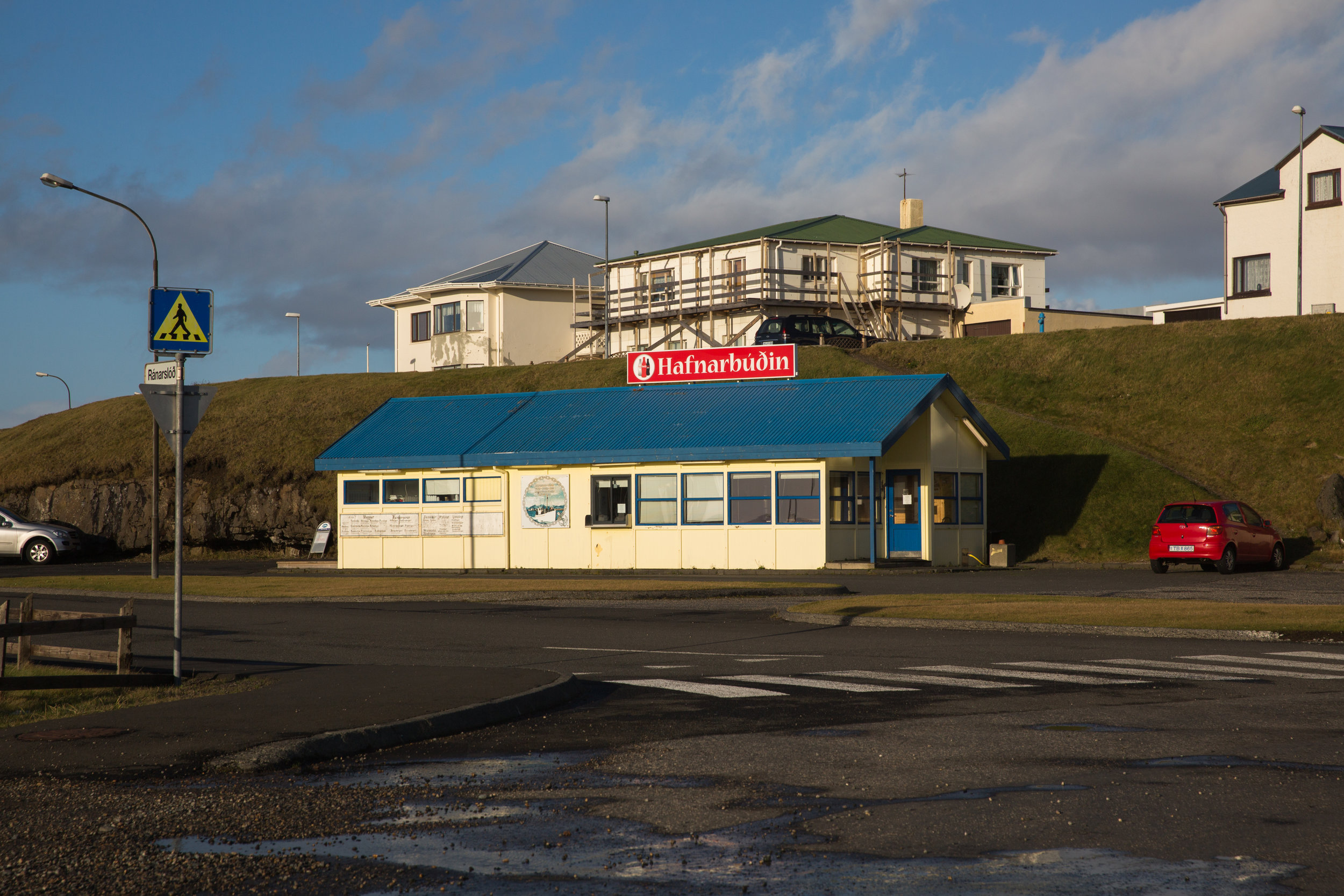 Hofn is also home to the best langoustine I had while in Iceland. They even have a drive through window.