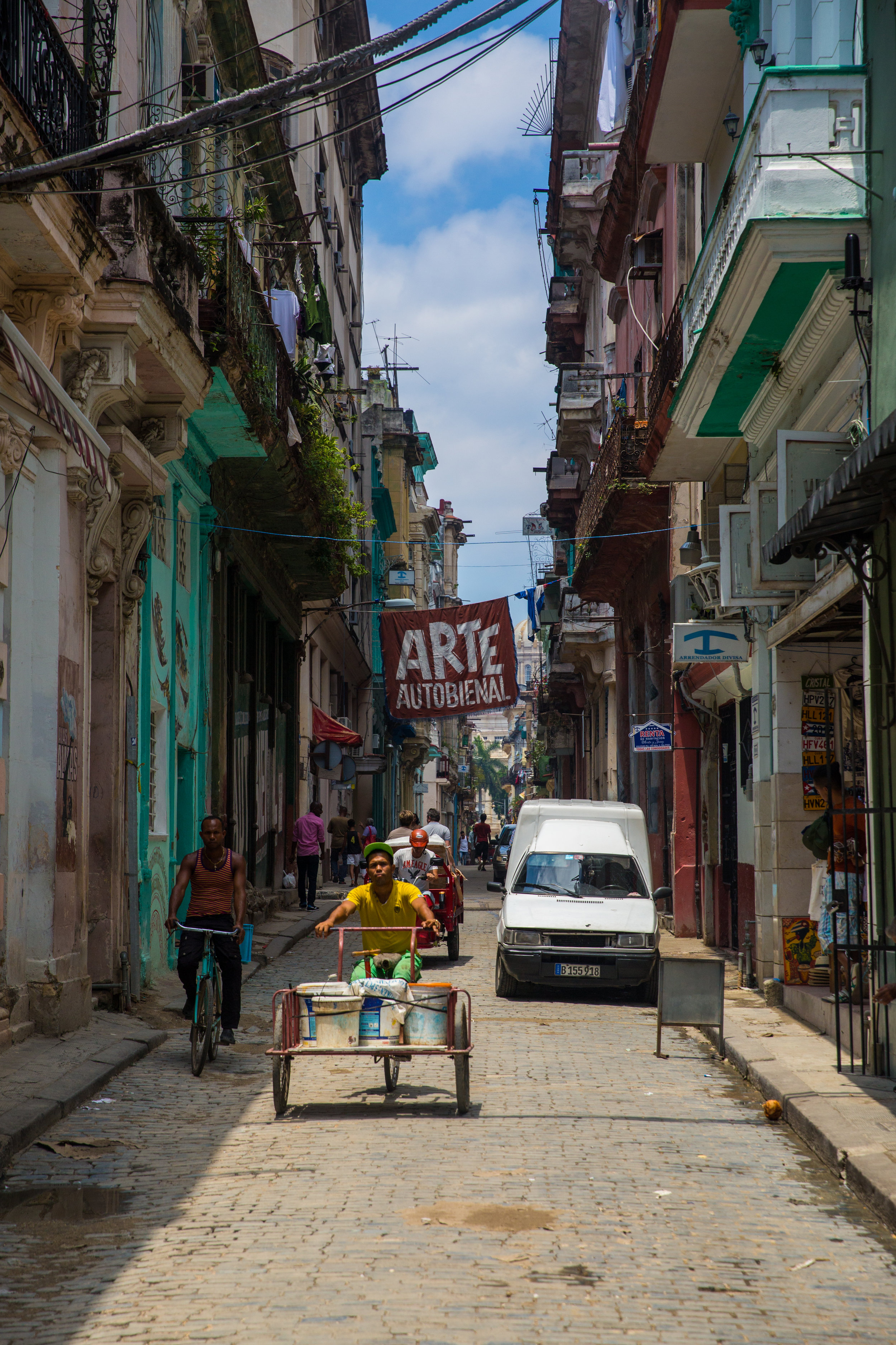 The Havana Biennial Art Exhibition takes places every two years; its primary purpose to bring about the Cuban contemporary art circles.