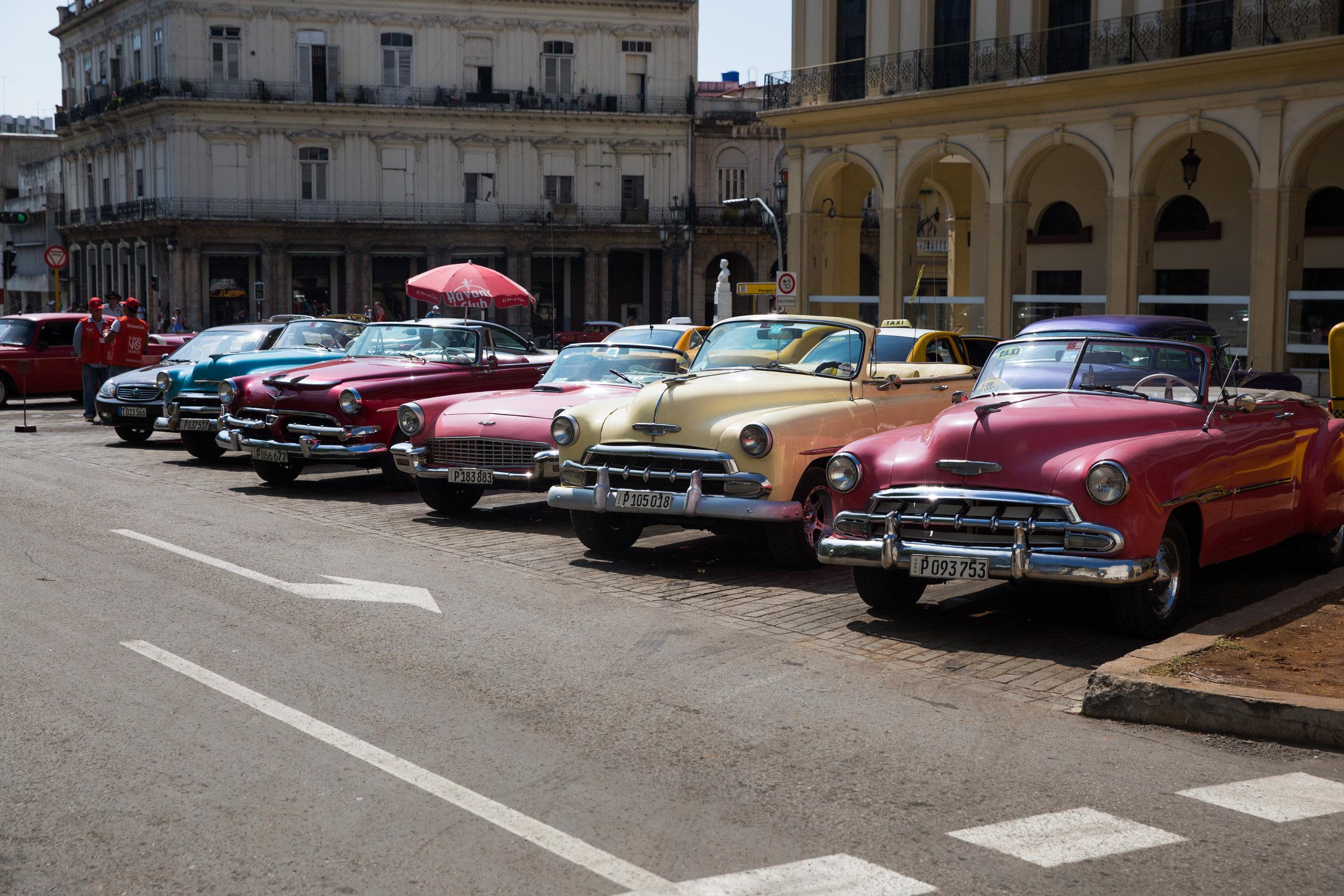 Cuba had some of the most unique paintjobs I'd ever seen.