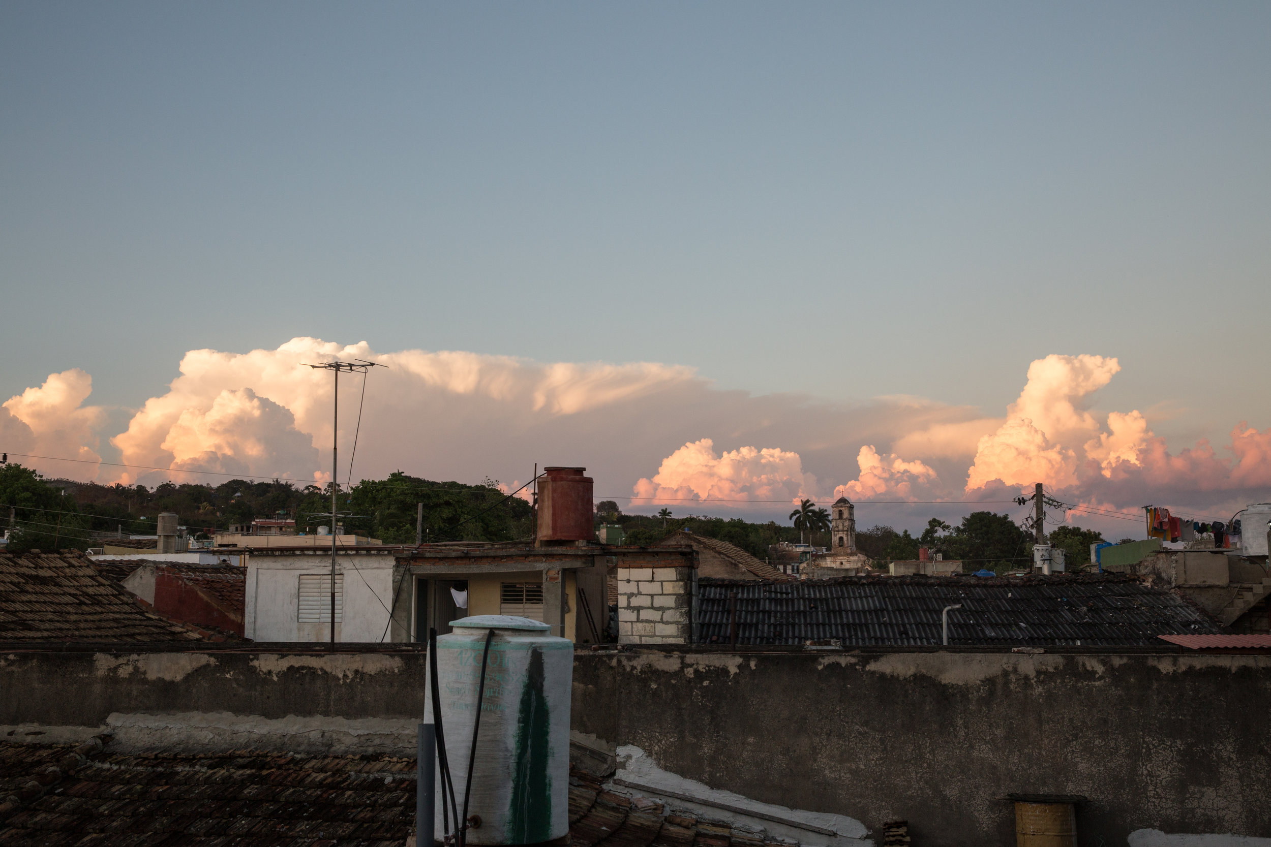 Founded in 1514, sunset in Trinidad de Cuba was humbling every time.