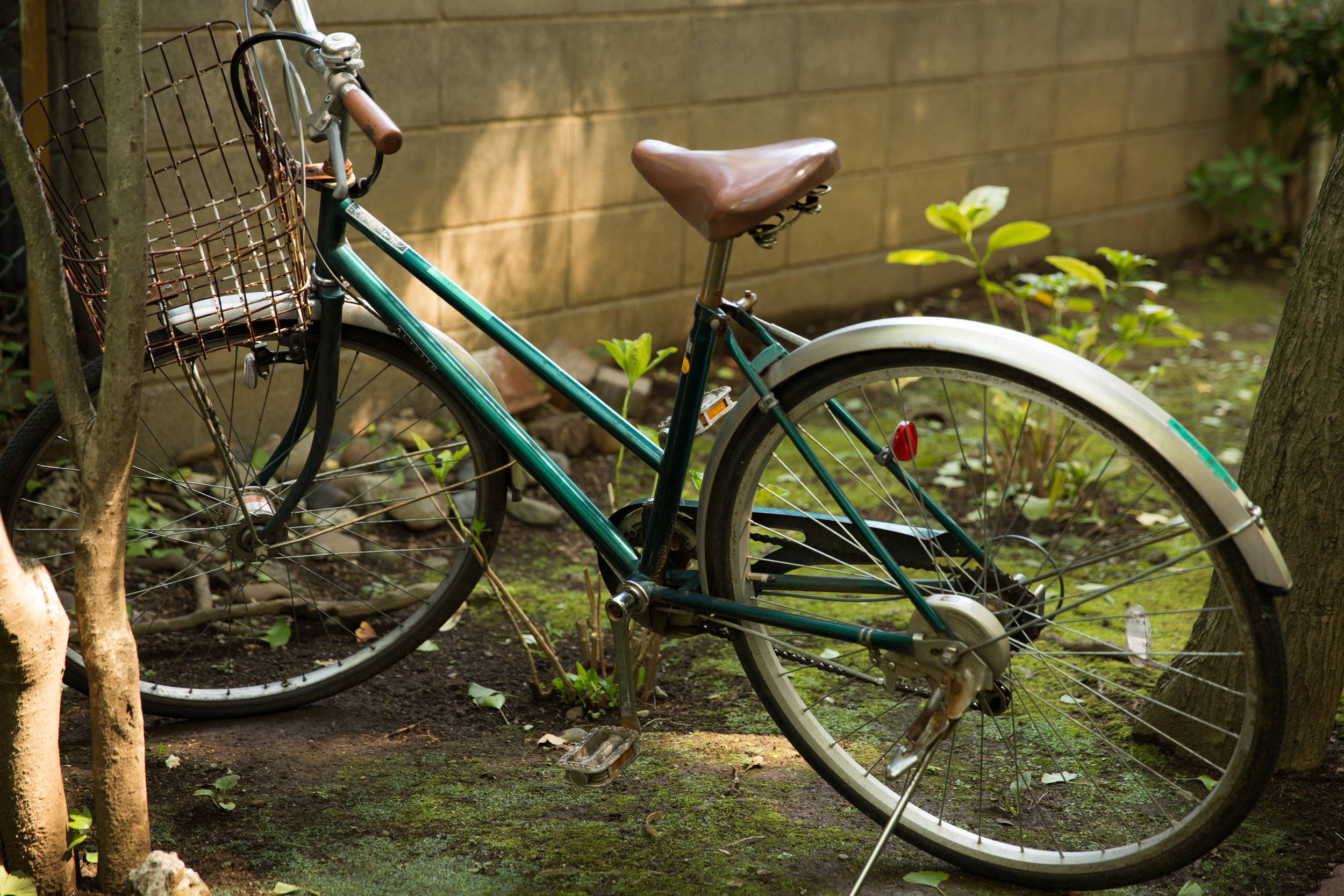 As busy as you'll find the streets of Tokyo, bikes old and new are everywhere.