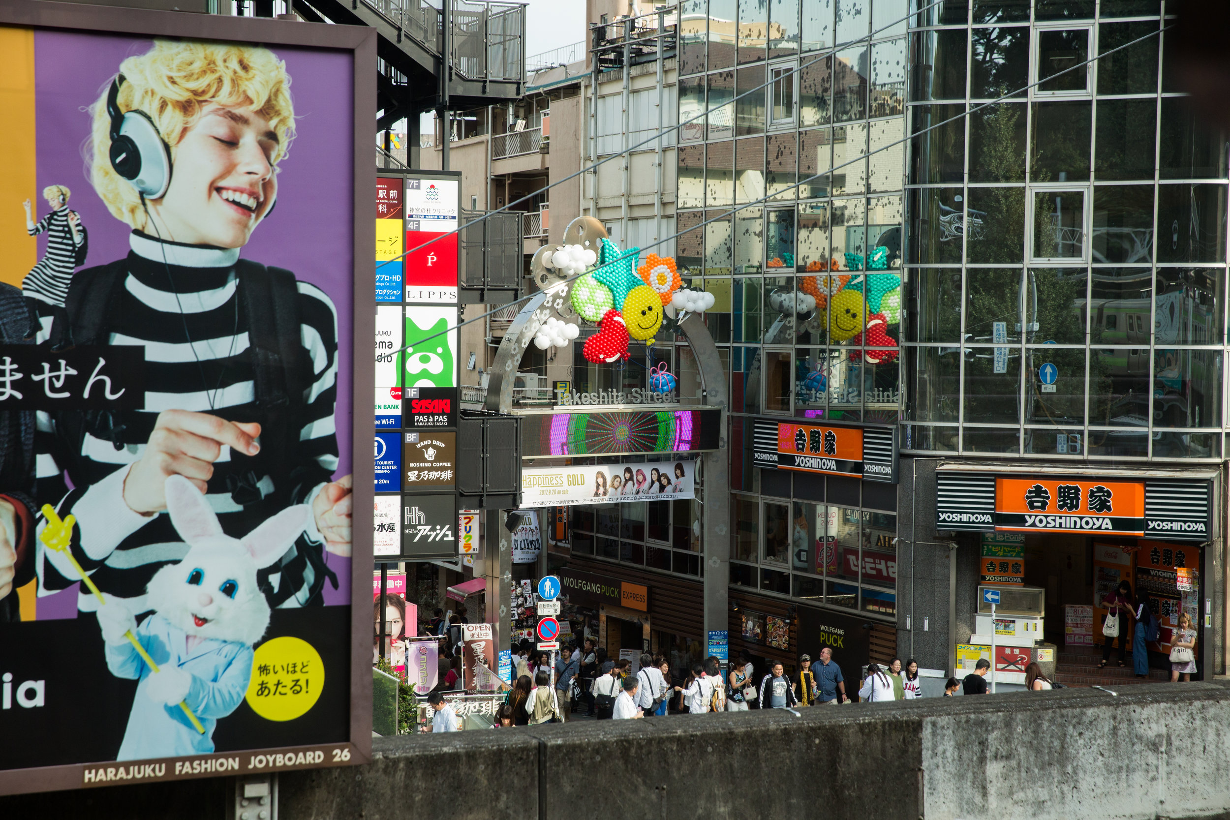 """Accessed from Harajuka Station, Takeshita Street is a prime location to grab """"sweet"""" and """"cute"""" style gifts, along with seeing the latest products in the various seed stores that the area flaunts."""