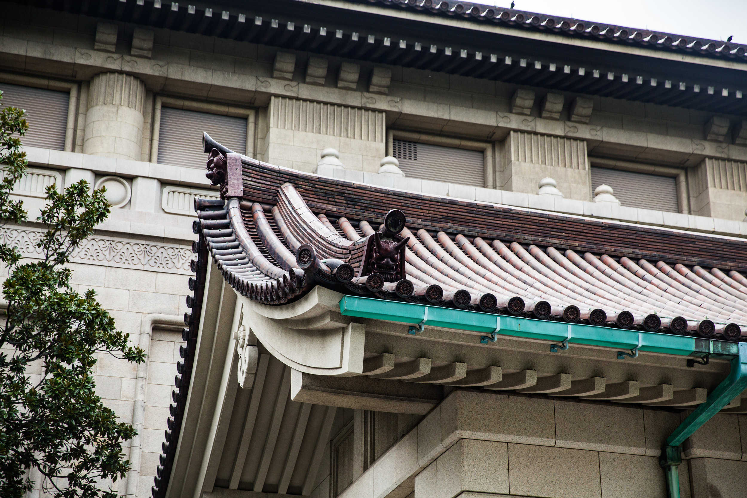 Established in 1872, the Tokyo National Museum is one of the largest art museums in the world. Focusing on ancient Japanese and Asian art from along the Silk Road, it also contains an substantial amount of Greco-Buddhist art. This was taken outside the Honkan building.