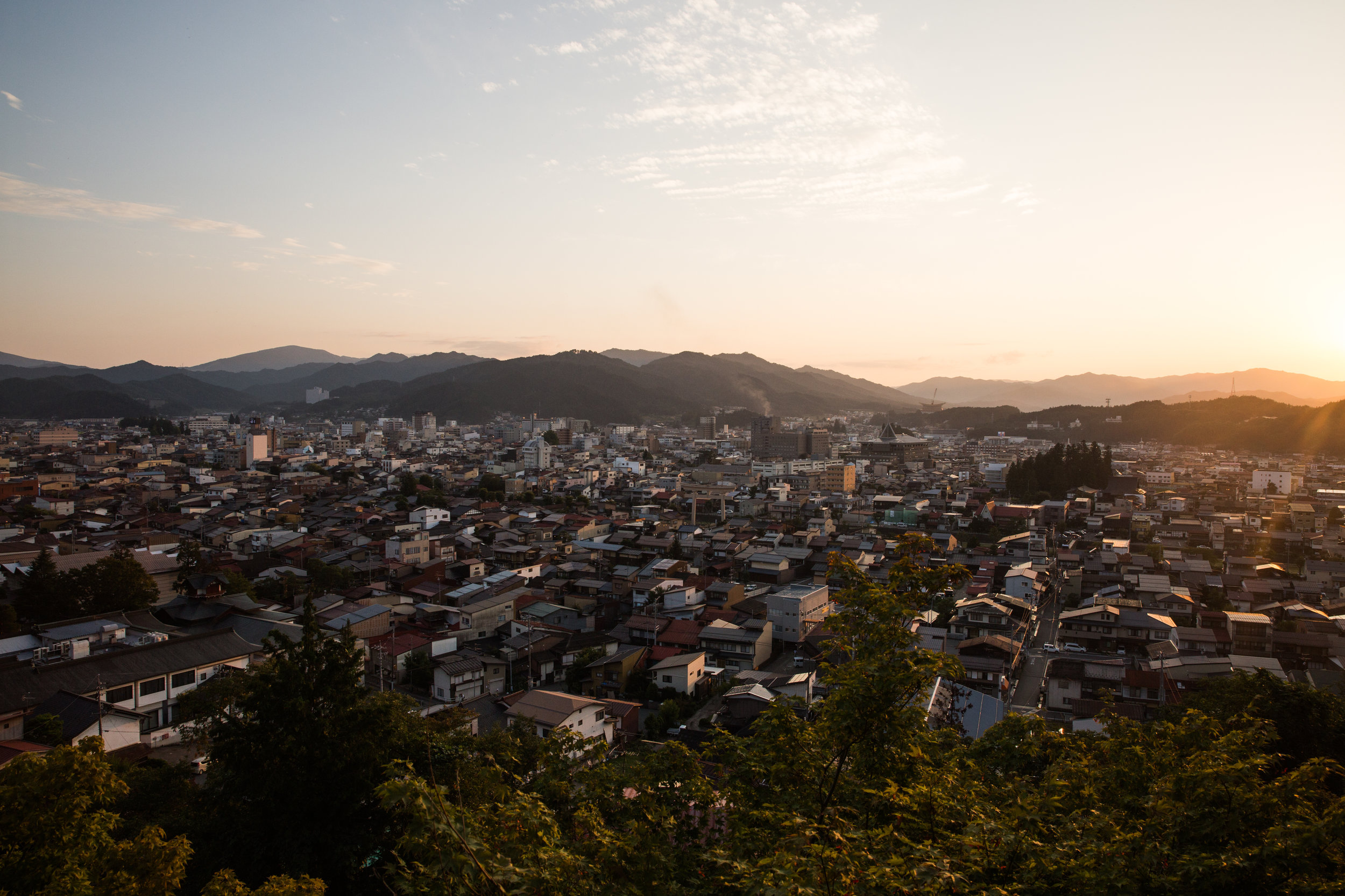 We made reservations at Hagi; the perfect perfect onsen experience coupled with a view of the city that still makes me smile.