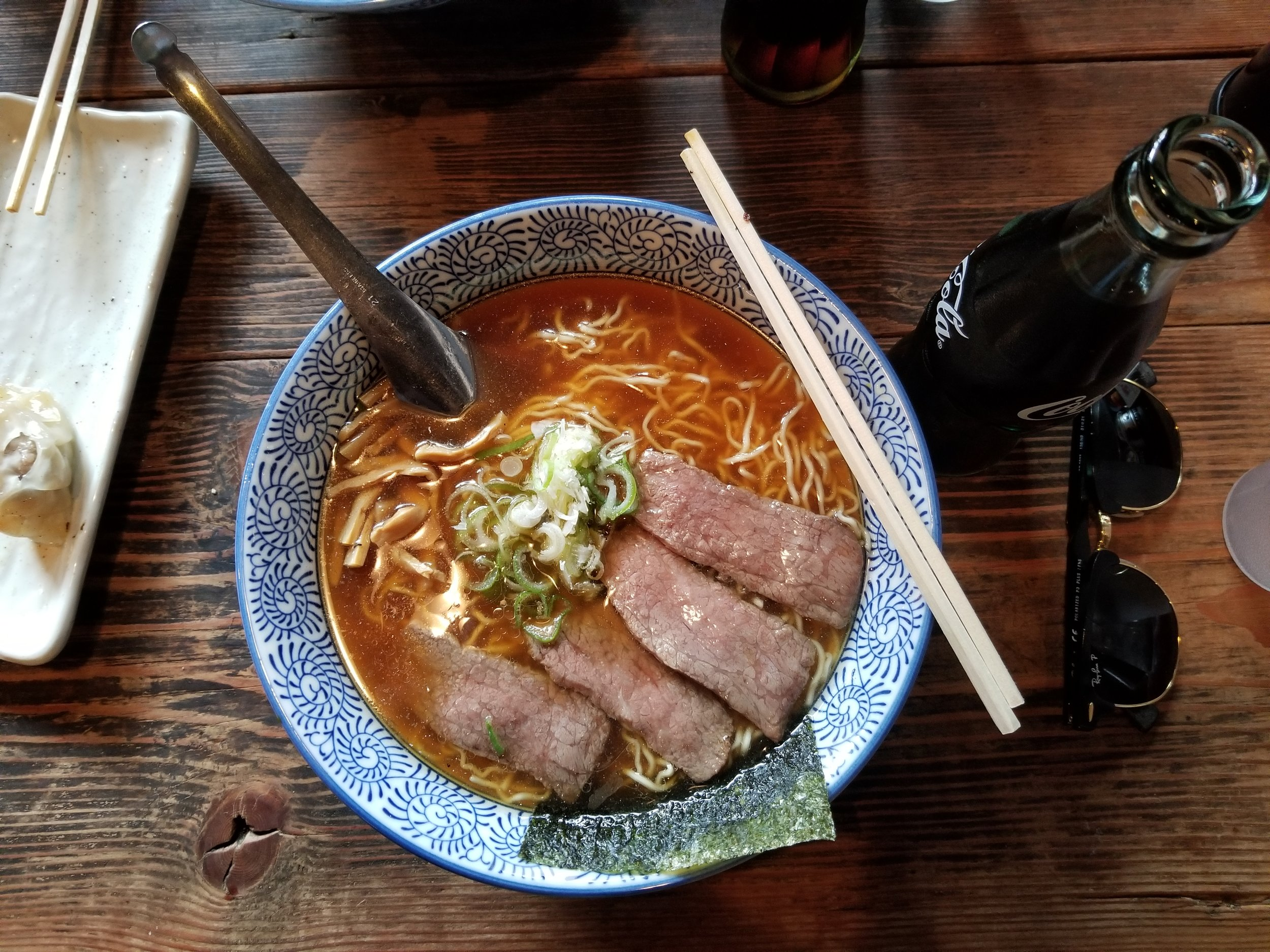 It was only fitting that we ended our trip with a quiet night out for Hida beef ramen. Kajibashi cooks are absolutely heavenly.