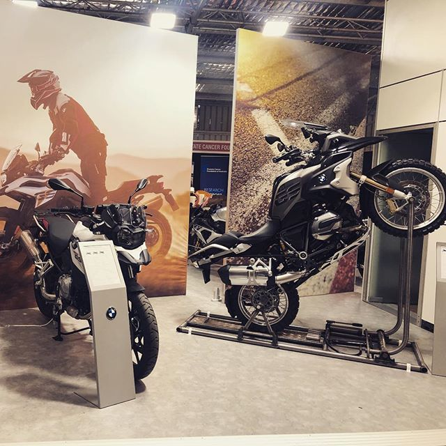 @bmwmotorrad had great presence at MotoGP this year with their stand in the expo building and their double-deck container catching all the action trackside!  #makelifearide #bmwmotorrad #motogp