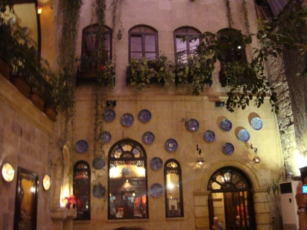 Sisi House restaurant in Aleppo