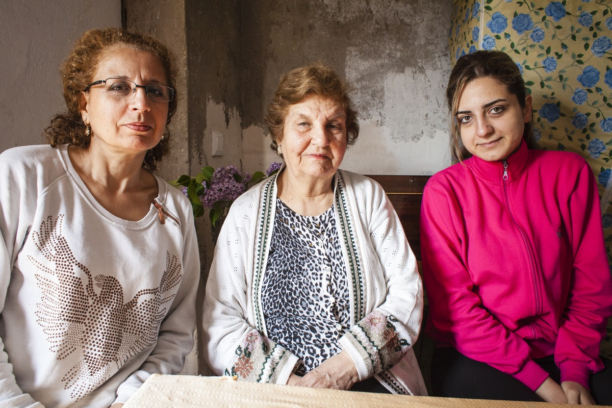 Syrian refugees living in Nor Nork district, Yerevan, Armenia (May 2015). Photo credit Ghadah Alrawi