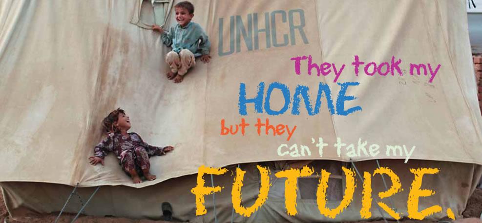 UNHCR Refugee day poster