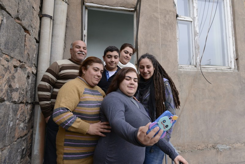 Refugees need time, help and resources to integrate into urban Armenia. Photo credit Zaven Khatchikyan