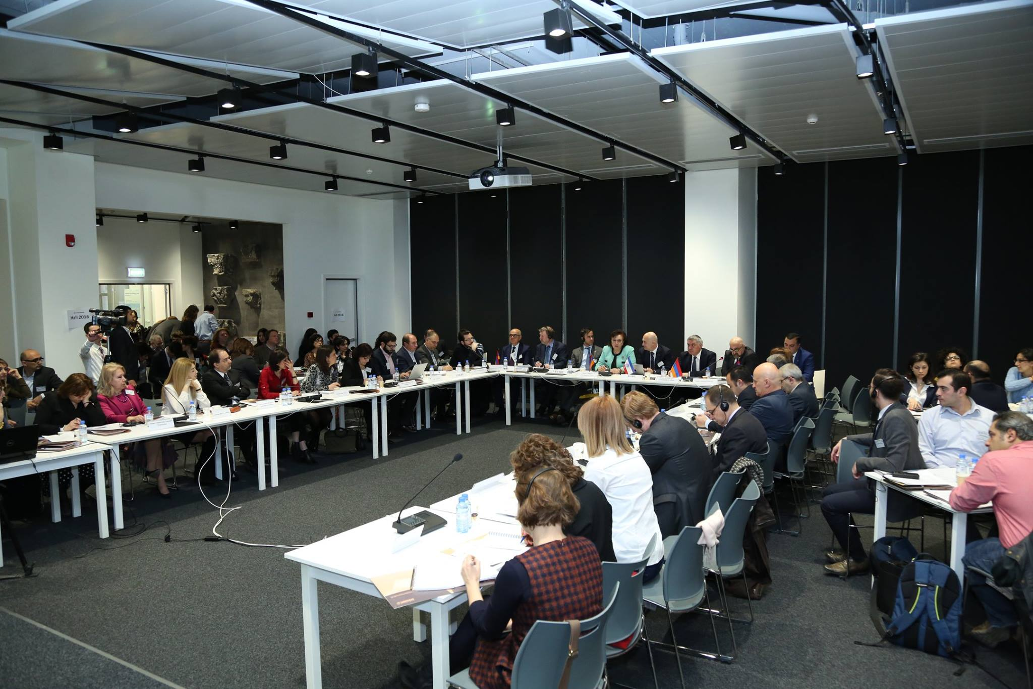 The view of the 1 day workshop which was hosted at the new AGBU building in Yerevan. Photo credit AGBU Yerevan