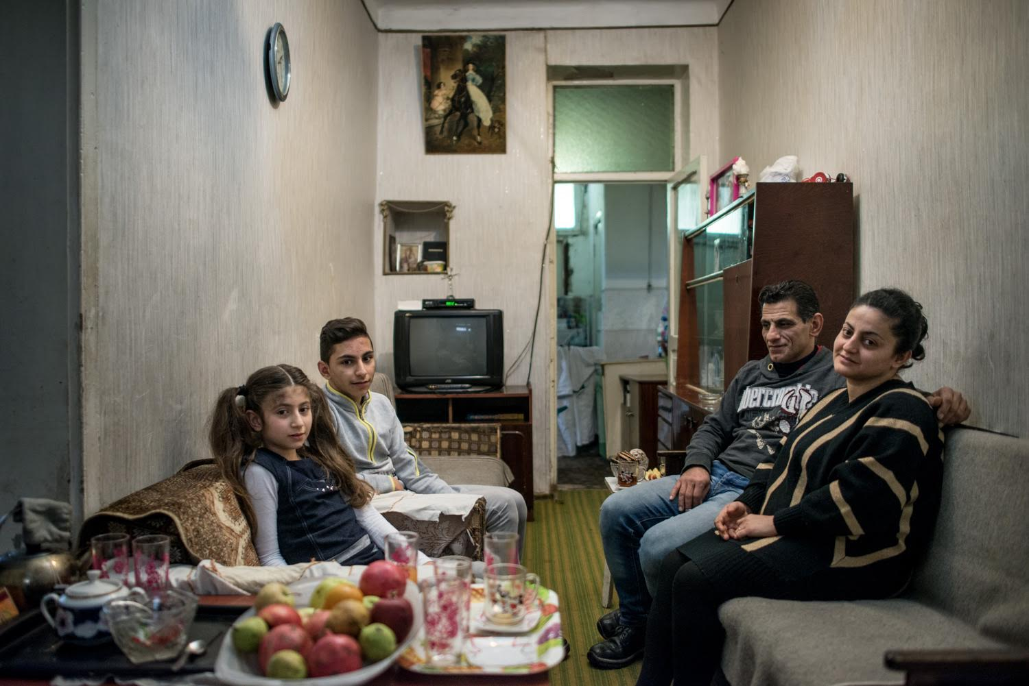Syrian Refugees in Yerevan - Photo credit Anush Babajanyan on assignment for the Armenian Redwood Project