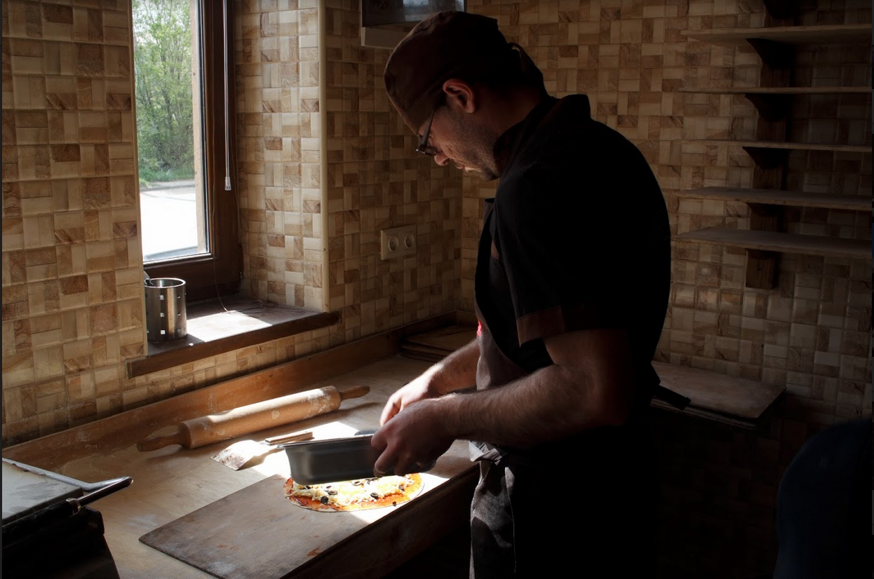 Bedig, another refugee from Syria working in a restaurant in Gumri, Armenia  Photo credit: James Aram Elliot on assignment for the ARP