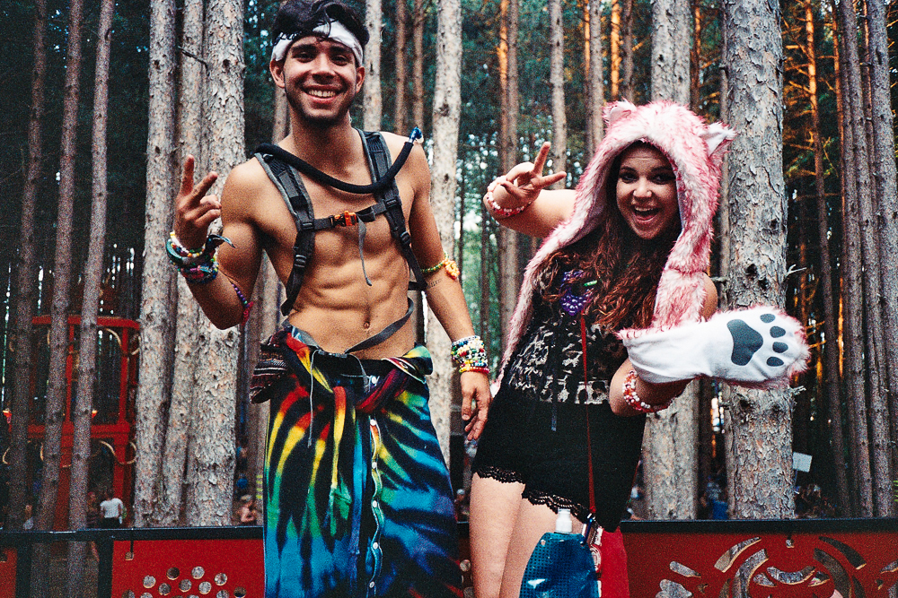 Lovely forest people