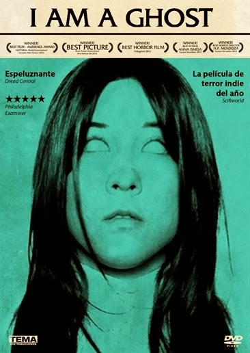 The Spanish DVD cover of  I Am a Ghost