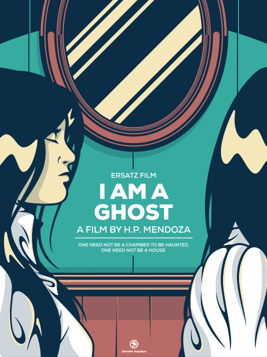 I AM A GHOST, Alternate movie poster by Salvador Anguiano