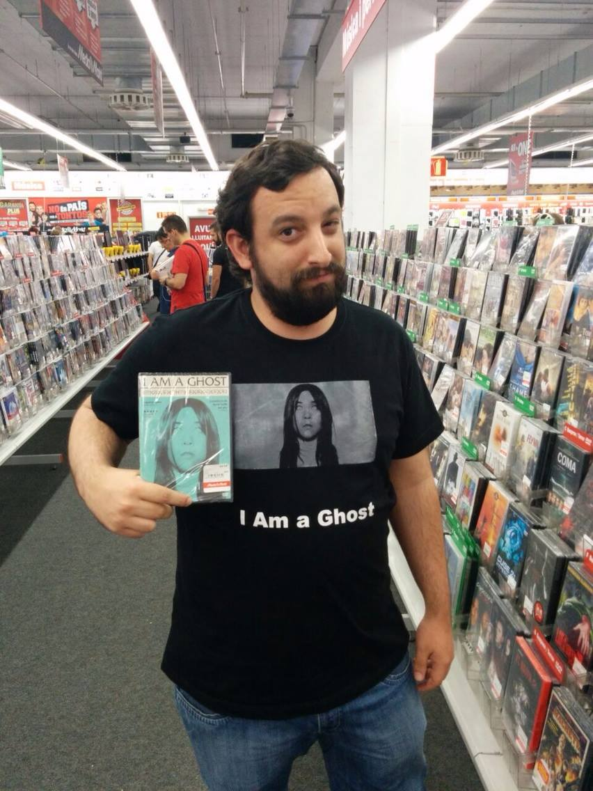 Omar Parra of  Terror Weekend  re-enacts a scene from  I Am a Ghost  in which Emily meets Emily.