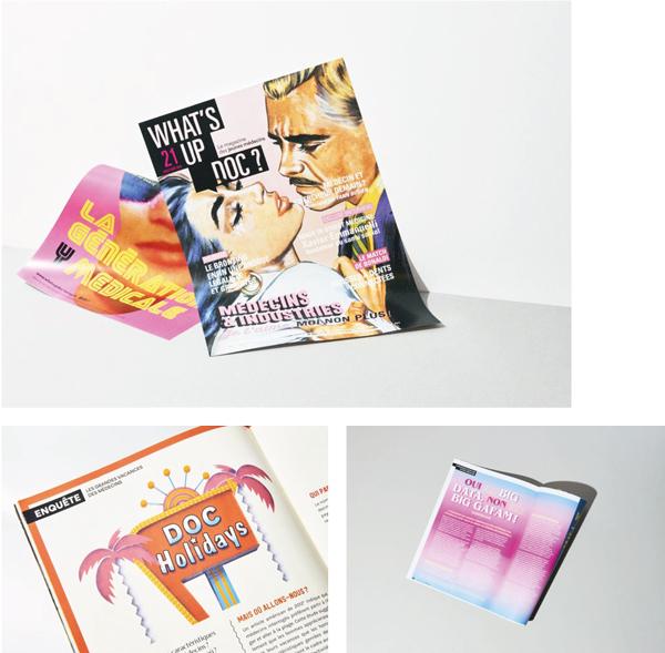 What's up Doc, le magazine des jeunes médecins (Luciole)