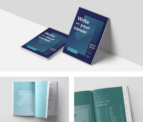 Brand book de Vitaminwater (agence Collins)