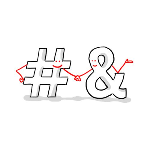 Esperluette   Nom donné au logogramme « & »