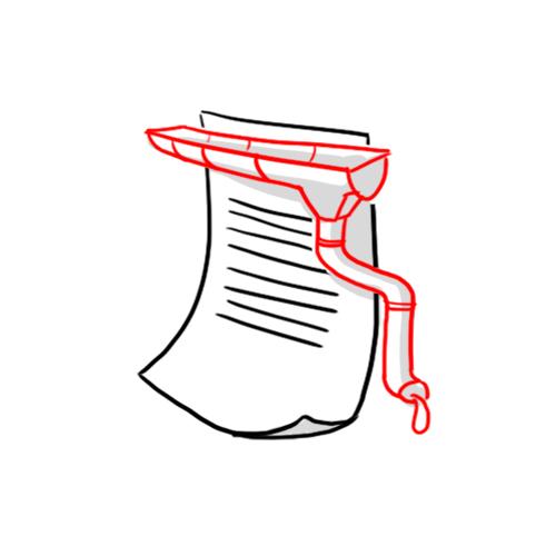 Gouttière   Espace blanc qui sépare deux colonnes de texte