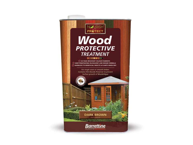 Highly recommended. - For rough sawn or smooth timber. Contains film biocide Preserver to prevent the surface growth of Mould/Algae.Ideal wood treatment for outdoor timber structures such as Sheds, Fences, Trellis, Pergola and timber Gazeboes. Provides excellent water repellency/beading. Oil / Solvent based for deeper penetration leaving a transparent/translucent finish colour effect to wood, where the grain texture is still visible.click image to link to Barretine pro for more products and information..