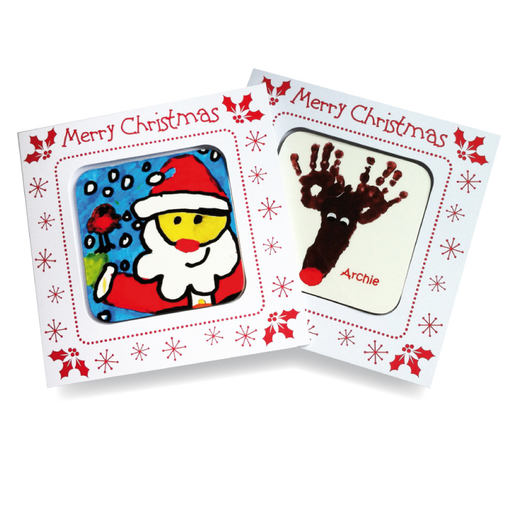 Christmas Coaster Cards