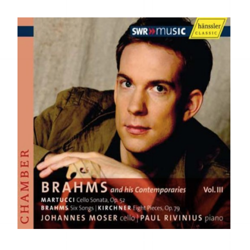 Brahms and his Contemporaries Vol. III  Order the CD:  Amazon.com  |  iTunes  |  Hänssler Classic   Listen on Spotify