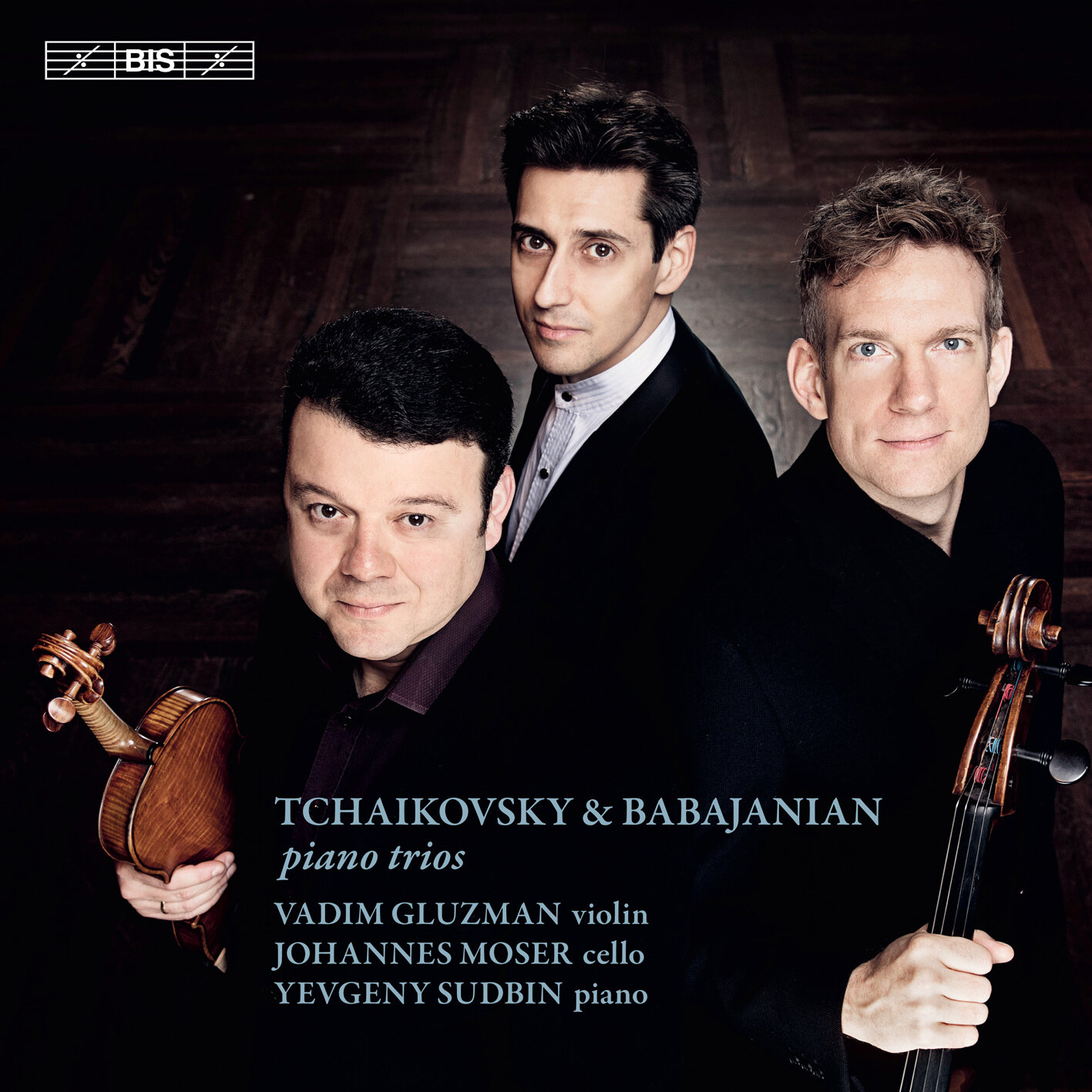TCHAIKOVSKY & BABAJANIAN PIANO TRIOS  click to order the album